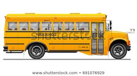 vektör · kentsel · minibüs · eps8 · iş · seyahat - stok fotoğraf © robuart