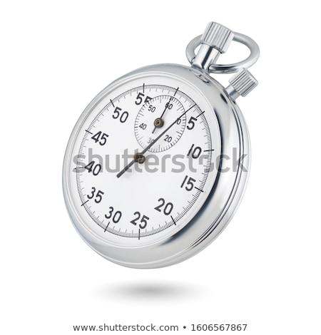 detail · stopwatch · witte · achtergrond · snelheid · horloge - stockfoto © inxti