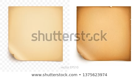 Stock photo: Old cardboard scrap