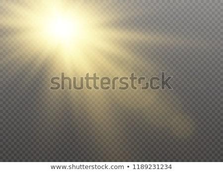 Nap nyaláb felhős égbolt absztrakt tájkép Stock fotó © nuttakit
