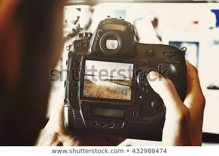 Professional digital camera Stock photo © johnnychaos