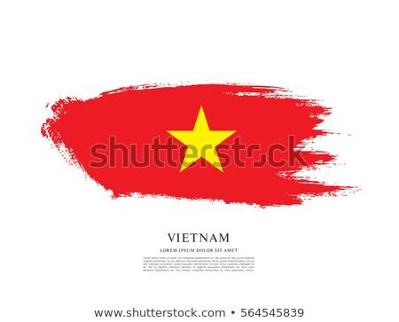 グランジ フラグ ベトナム 古い ヴィンテージ グランジテクスチャ ストックフォト © HypnoCreative