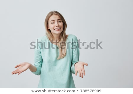 Woman who doubts Stock photo © photography33