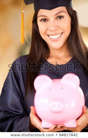 Femme collège fonds belle femme pièces Photo stock © piedmontphoto