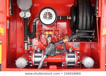 приборная панель мобильных бензина красный автомобилей нефть Сток-фото © Mikko