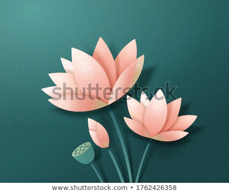 beautiful petals on moss stock photo © arrxxx