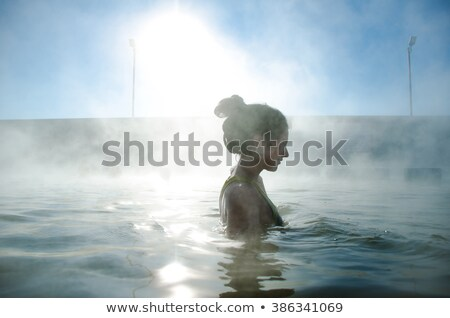 Hot Spring in a Thermal area Stock photo © wildnerdpix