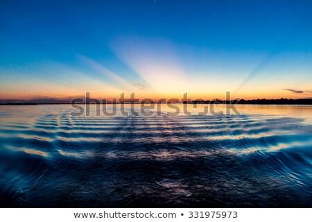 Sabah Amazon nehir gökyüzü güneş Stok fotoğraf © MojoJojoFoto