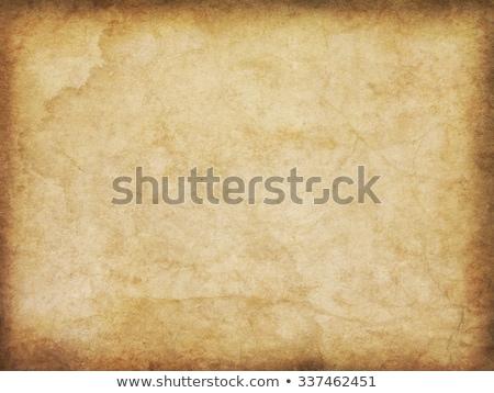 Burnt Parchment Paper Stock photo © ArenaCreative