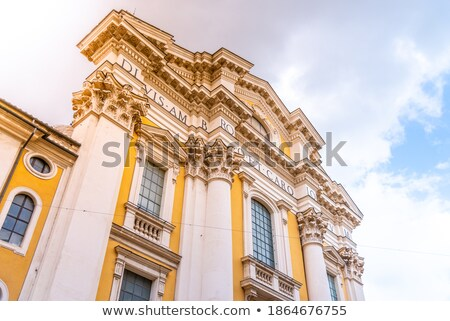 san carlo al corso church rome stock photo © backyardproductions