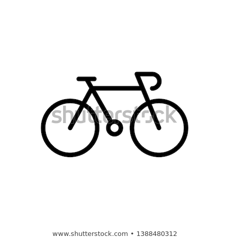 Vector icon bicycle Stock photo © zzve