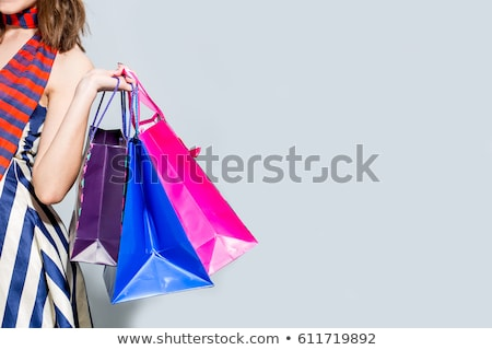 Bright colourful shopping bags Stock photo © Farina6000