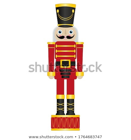 Icon toy soldier Stock photo © zzve