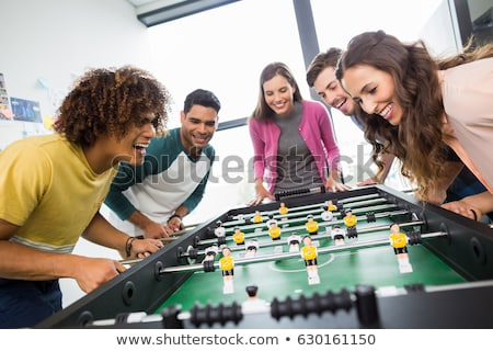 table soccer Stock photo © jonnysek