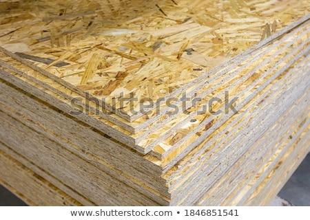 oriented strand board stock photo © zerbor