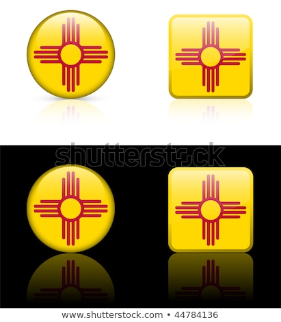 Stock photo: Button New Mexico