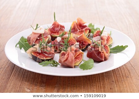 starter, fig and proscuitto Stock photo © M-studio