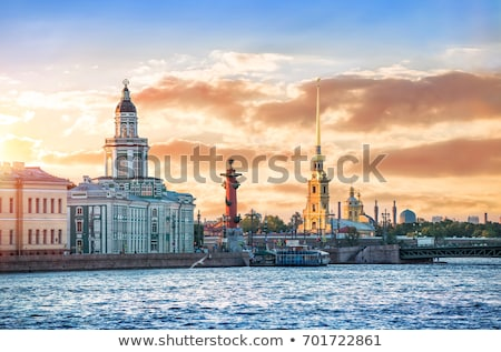tower of Kunstkammer in  St. Petersburg Stock photo © Mikko