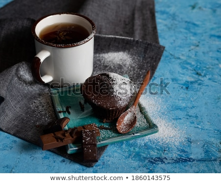 gamepad · házi · készítésű · csokoládé · chip · sütik · rusztikus - stock fotó © zhekos