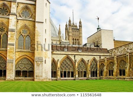 Westminster · Abtei · Vorderseite · Fassade · Straße - stock foto © elnur