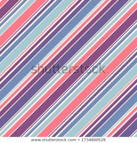 Purple Thin Diagonal Striped Textured Fabric Background Stock photo © karenr