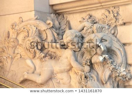 прихожей украшенный вход внешний Сток-фото © bloodua