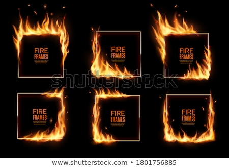 Rectangular Burned Edges Frame Stock photo © 3mc