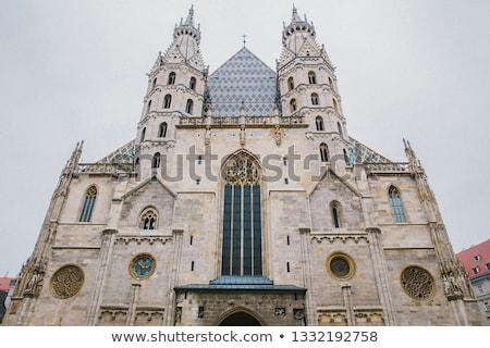 belső · zarándoklat · templom · alsó · Ausztria · épület - stock fotó © amok