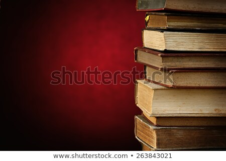 stack of antique books with spcae for your text  Stock photo © Sarkao