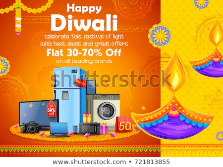 Diwali Background With Gifts Stock photo © rioillustrator