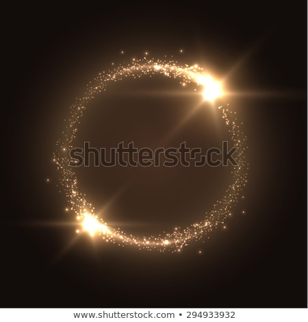 round bubbles with light effects stock photo © punsayaporn