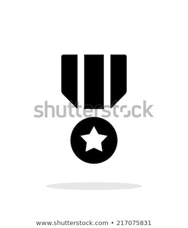 military icons in circle Stock photo © glorcza