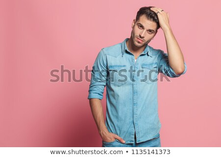 Homme mur douille angle Photo stock © feedough