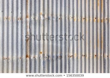 Corrugated iron background Stock photo © Stocksnapper