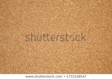 Kurk boord exemplaar ruimte lege bruin boom Stockfoto © ozgur