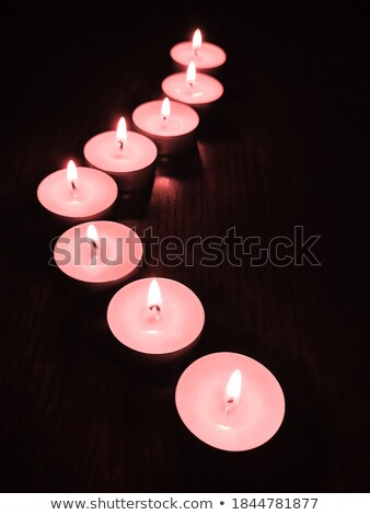 Pink candles Stock photo © ldambies