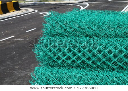 rolled fence Stock photo © prill