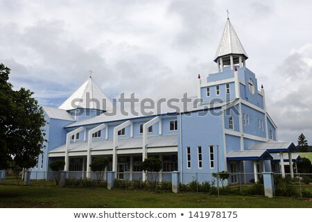 Stockfoto: Church On Eua Island