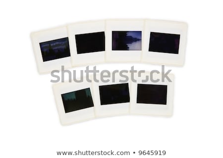 seven slides in two rows.all slides mine. stock photo © Paha_L