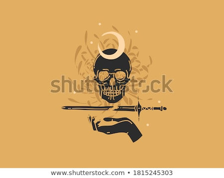 Celestial Knight with Sword Stock photo © AlienCat