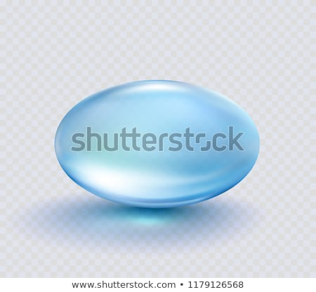 Сток-фото: синий · капсулы · таблетки · белый · наркотиков · фармацевтический