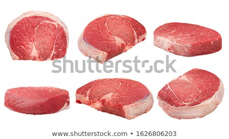 sliced meat products with low depth of field stock photo © Phantom1311