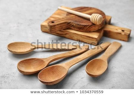 ahşap · çekiç · et · yalıtılmış · beyaz · gıda - stok fotoğraf © simply