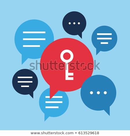 key with message marketing stock photo © fuzzbones0