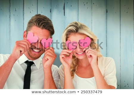 élégant couple amour fête bâtiment sexy Photo stock © konradbak