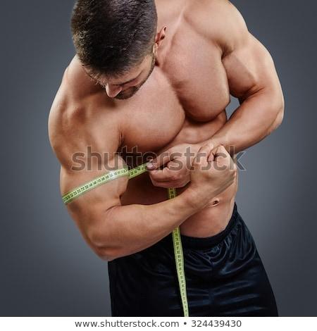 gaining muscle stock photo © goir