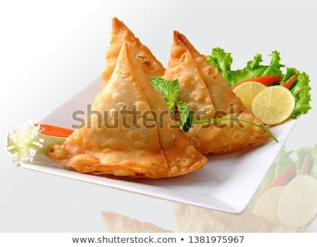 индийской · традиционный · продовольствие · ресторан - Сток-фото © thisboy