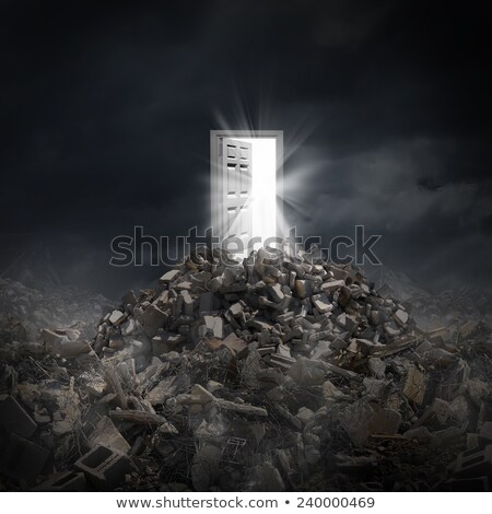 concept salvation from war Stock photo © Olena