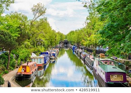 ヴェネツィア ボート 旅行 運河 ロンドン ストックフォト © Artlover