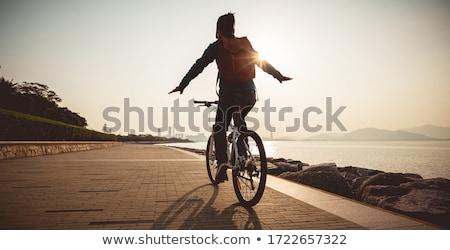 kolarstwo · górskie · rowerów · szlak · górskich - zdjęcia stock © blasbike